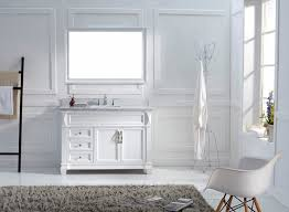 pictures of white bathroom vanities. virtu usa ms-2648-wmsq-wh transitional 48-inch single sink bathroom pictures of white vanities n