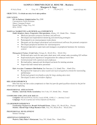 Business Administration Sample Resume Free Resume Example And