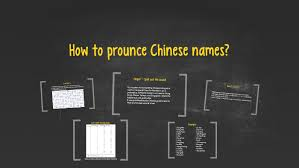 Chinese Yabla Com Chinese Pinyin Chart Php Chinese Name Pronunciation By Olive Shuai On Prezi