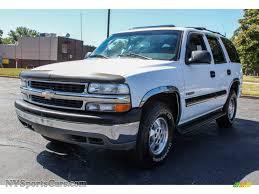 2001 Chevrolet Tahoe LS 4x4 in Summit White - 118289 ...