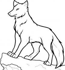 Kleurplaat Wolf 01 Topkleurplaatnl