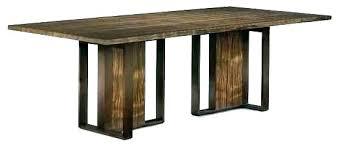 metal pedestal dining table bases custom