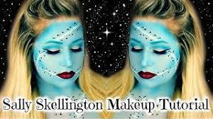 sally skellington makeup tutorial nightmare before