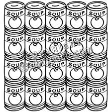 Small Picture 11 Images of Campbell Soup Can Coloring Page Andy Warhol Soup