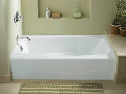 kohler villager 60 x 30 alcove bath with integral a and left pertaining to bathtub plan