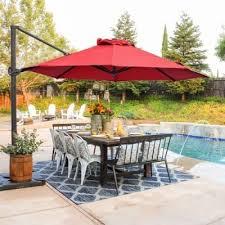 11 best offset patio umbrellas full