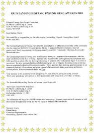 executive director receives unsung hero award tech corps the award announcement letter