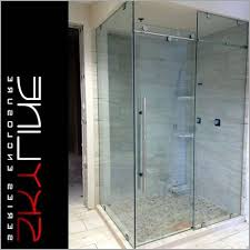 glass shower doors custom fresh skyline 90 with custom pull 3 8 clear glass shower door