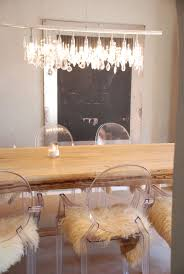 lucite chairs dining room