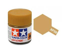 Tamiya Acrylic Mini Xf 59 Desert Yellow 10ml Jar