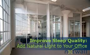 Natural office lighting Interior Increased Lighting In Office Design Example Nxtwall Study Shows Increased Lighting In Office Design Improves Workers Sleep
