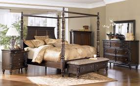 ashley furniture king bedroom sets. Ashley Key Town King Poster Bed | Clearance Outlet Raleigh Furniture Bedroom Sets