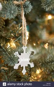 Personalised Light Up Christmas Baubles Light Up Snowflake Ball Ornament Woodland Stockings
