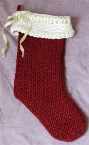 Crochet Christmas Stocking Pattern Magnificent Ravelry Baby Boy's First Christmas Stocking Pattern By Priscilla Hewitt