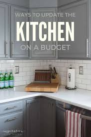Three Ways To Update Your Kitchen On A Budget Inspiration For Moms