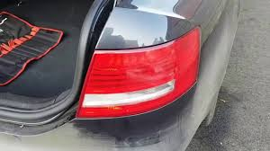 Audi A6 Estate Third Brake Light Removal How To Remove Back Rear Light Audi A6 4f For A Bulb Change