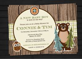 Such An Awesome Party Idea For A Boy Shower My Hubby Would Love Camping Themed Baby Shower Invitations