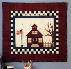 School Days Quilted Wall Hanging Pattern | HowStuffWorks & School Days Quilted Wall Hanging Adamdwight.com