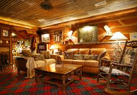 Living Room, Photos Private Vacations Cabin Inside Log Home Living Room  Pictures: Appealing Log ...