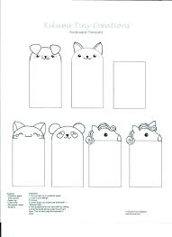 Free Blank Bookmark Template Bookmark Picture Template Free