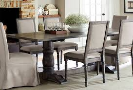 Progressive Furniture Muses Dove Grey Rectangle Dining Table The