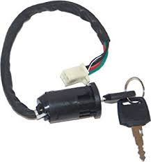 amazon com goofit left switch assembly for 50cc 70 cc 90cc 110 cc ignition key set 4 wires for chinese made 50cc 70cc 90cc 110cc 125cc kids atv dirt