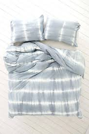 blue tie dye bedding quilt cover bedspread dyed