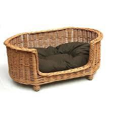 Luxury Large Wicker <b>Dog Bed</b> Basket Settee - Prestige Wicker ...