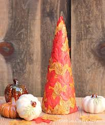 Cheap easy fall decorating ideas Diy Easy And Makes Wonderful Piece For Any Table Or Countertop Or Make This Dollar Store Fall Leaf Tree From kim Six Fix Full Tutorialu2026 The Budget Decorator 13 Easy And Inexpensive Fall Decorating Ideas The Budget Decorator