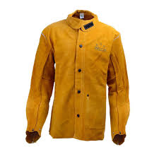 112 117cm cowhide split leather welders jacket protective clothing welding 1 of 12only 3 available see more
