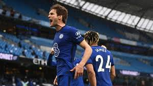 Kai havertz scores the only goal of the game! Manchester City Vs Chelsea Score Marcos Alonso Strike Postpones Title Clinch For Guardiola S Side Cbssports Com