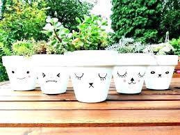 pot decoration ideas with paint plant pot ideas flower pot painting flower planting containers best painted