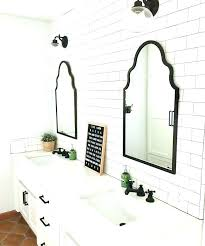 cottage bathroom mirror ideas. Farmhouse Bathroom Mirror Ideas Cottage