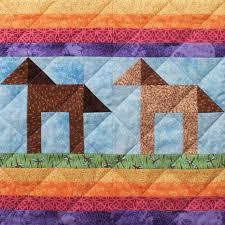 Pony Trails Patchwork Quilt Block Pattern &  Adamdwight.com
