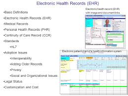 Electronic Patient Chart Electronic Health Records Ehr Ppt Video Online Download