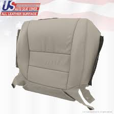 2007 2008 acura tl driver bottom perforated leather replacement seat cover taupe