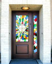 stained front door stained glass front door door style stained glass front door security stained glass