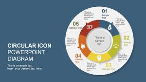 5 Step Creative Circular Diagram Design For Powerpoint - Slidemodel