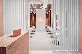 young melbourne based architecture and interior design practice tecture has pleted a slick new fit out for a start up premium dry bar business