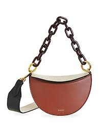 Yuzefi - Doris <b>Colorblock</b> Leather Satchel - saks.com