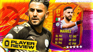 87 HEADLINERS MAHREZ PLAYER REVIEW | FIFA 21 Ultimate Team - YouTube
