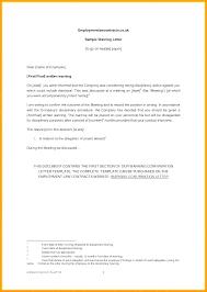 Discipline Letter Template Elevenia Co