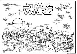 Small Picture Star wars movie free printable coloring pages