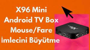 X96 Mini Android TV Box Mouse / Fare İmlecini Büyütme - YouTube