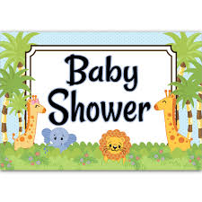 Jungle Babies Baby Shower Decorations