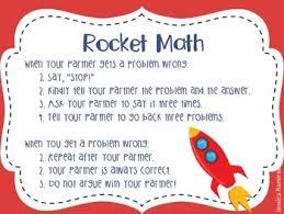 Rocket Math Chart Rocket Math Chart Worksheets Teaching Resources Tpt