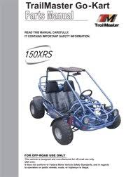 trailmaster manuals trailmaster 150 xrs user parts manual