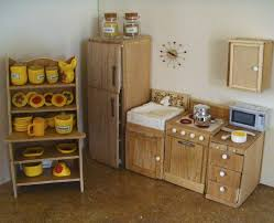 doll furniture recycled materials. A Playscale (Barbie Size) Kitchen Made From Styrofoam, Basswood, Polymer Clay And Doll Furniture Recycled Materials S