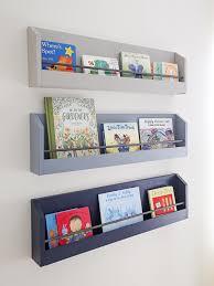 diy kids bookshelf for the wall