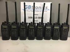 motorola xpr 6550. lot 8 motorola xpr 6550 trbo vhf portable two-way radios aah55jdh9la1an xpr